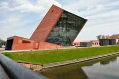 WO.II-museum 3 gdansk polen Royalty-vrije Stock Afbeelding