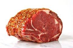 Wo ist das Rindfleisch? Stockbild