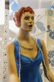 Wo-Mannequin Überraschung lizenzfreie stockfotos