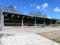 Wo?owiien byd?o gospodarstwa rolnego jata, Chorleywood, Hertfordshire fotografia stock