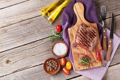 wołowina grillowany stek Fotografia Royalty Free