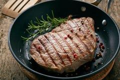 wołowina grillowany stek Obrazy Stock