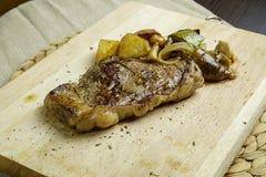 wołowina grillowany stek Zdjęcia Stock