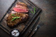 wołowina grillowany stek Fotografia Stock
