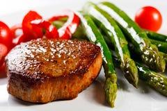 wołowina piec na grillu Obraz Stock