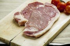 Wołowina stek Fotografia Royalty Free