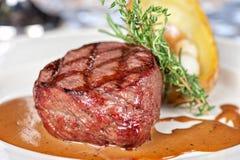 Wołowina stek Obraz Royalty Free