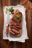 Wołowina stki Zdjęcie Stock