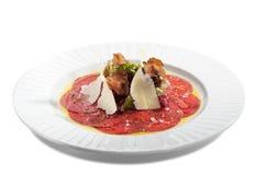 wołowiny carpaccio Zdjęcia Stock