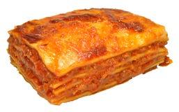 Wołowiny Lasagne Fotografia Stock