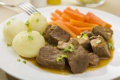 wołowiny marchewek grul gulasz Zdjęcie Royalty Free