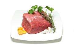 wołowiny naczynia whit Fotografia Royalty Free