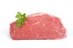 wołowiny pokrywy pieczeni kuperu stek fotografia stock