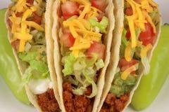wołowiny tacos Obrazy Royalty Free
