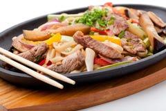 wołowiny udon Fotografia Stock