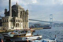 Wo zwei Kontinente sich treffen: Istanbul stockfotos