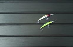 Wobbler δύο για την αλιεία στοκ εικόνες