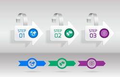 Wobbler infographic set Stock Photo
