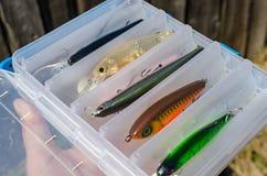 Wobblers для захватнических рыб Стоковая Фотография