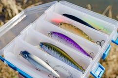Wobblers для захватнических рыб Стоковые Изображения RF
