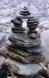 Wobbly stone structure Royalty Free Stock Photography