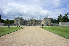 Woburn Abbey. Located at Bedfordshire, England, UK Stock Image