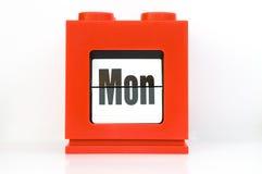 Woche, Montag. Lizenzfreies Stockfoto