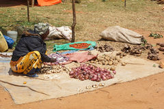 Wochenmarkt, Schlüssel-Afer, Äthiopien, Afrika Stockfoto