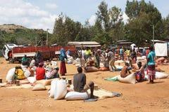 Wochenmarkt, Schlüssel-Afer, Äthiopien, Afrika Lizenzfreie Stockfotografie