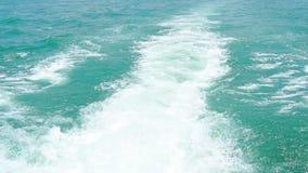 Wod pluśnięcia na morze powierzchni w zwolnionym tempie zdjęcie wideo