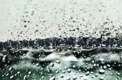 Woda bąble obraz stock