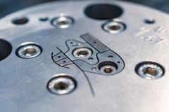 Woda chłodzący kostka do gry dla przemysłowego extruder obrazy royalty free
