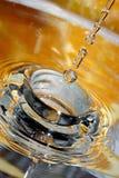 Woda czyste krople Fotografia Royalty Free