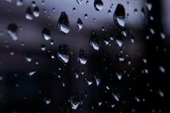 Woda deszcz kropla obrazy royalty free