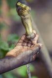 Woda dla Afryka dla życia zakończenia i Zdjęcia Royalty Free