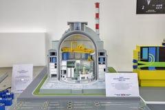 Woda energiczny reaktor WWER fotografia royalty free