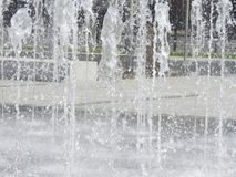 Woda, fontanna, miasto, park, przyciąganie Obrazy Stock