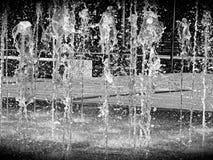 Woda, fontanna, miasto, park, przyciąganie Obraz Royalty Free
