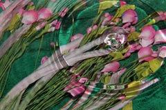 Woda i kwiaty zdjęcia royalty free