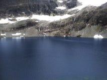 Woda i śnieg Zdjęcia Stock