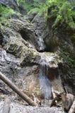 Woda i skały Fotografia Royalty Free