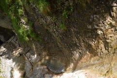 Woda i skały Zdjęcie Stock