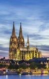 woda kolońska katedralny German Fotografia Stock