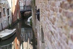 Woda miejska kanał Zdjęcie Stock