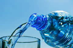 woda mineralna Obrazy Stock