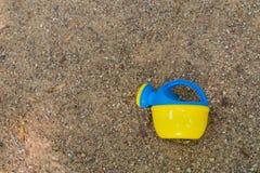 Woda może w piasku 1 Fotografia Stock