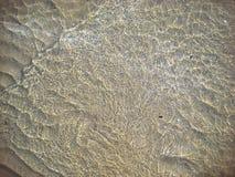 Woda morska obok plaży obraz royalty free