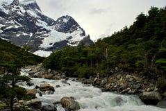 Woda od gór Zdjęcie Royalty Free