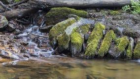 Woda od małego strumienia Obraz Royalty Free