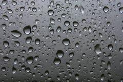 Woda opuszcza tło Obraz Stock